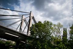 River bank (Maria Eklind) Tags: doanu österrike fredsbron bridge river danube austria friedensbrücke kanal vienna schwedenplatz riverbank rossauerlände wien gemeindebezirkinnerestadt