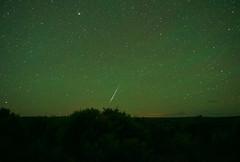 Meteor over Tres Piedras