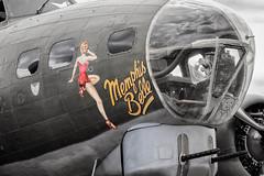 G-BEDF/124485/DF-A Boeing B-17G Flying Fortress 'Sally B' (amisbk196) Tags: airfield aircraft dday dday75 flickr amis aviation unitedkingdom daksoverduxford 2019 uk duxford gbedf 124485 dfa boeing b17g flying fortress sallyb