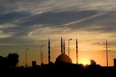 winter sunrise (peet-astn) Tags: sunrise alba dawn mosque midrand gauteng southafrica johannesburg turkish nizamiyemosque nizamiye