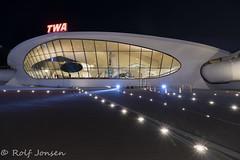 TWA Hotel (rjonsen) Tags: jfk airport runway lights night photo tripod long exposure architecture building light rule thirds