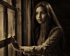 Rainy Days and Sad Dreams (TNrick) Tags: gatlinburg tennessee easttennessee greatsmokymountainnationalpark budoglecabin portrait stellapro1000 girl