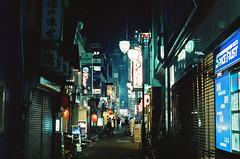 Shinjuku, Tokyo, Japan (Quinn Milton Photography) Tags: film 35mm 35mmfilm 35m 35mmfilmphotography istillshootfilm filmisnotdead filmphotography travel japan tokyo shinjuku night cinestill canon shootfilm believeinfilm analogue analog