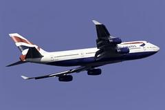 British Airways 747-400 G-CIVE at London Heathrow LHR/EGLL (dan89876) Tags: british airways boeing 747 queen b744 747400 747436 gcive london heathrow international airport takeoff 09r banking lhr egll