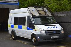 NK09 FHY (S11 AUN) Tags: durham constabulary ford transit police public order vehicle pov psu 999 emergency nk09fhy