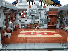 Medieval Blacksmith Shop (ben_pitchford) Tags: lego afol medieval moc blacksmith blacksmithshop design forge anvil toyphotography legophotography legoideas brickworld bricknetwork eurobricks
