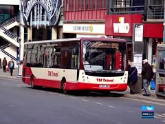 YJ07JWU - Haymarket, Sheffield, March 2014. (Iveco 59-12) Tags: tmtravel vdlbus vdlsb120 plaxtoncentro yj07jwu