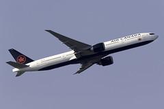Air Canada 777-300ER C-FNNQ at London Heathrow LHR/EGLL (dan89876) Tags: air canada boeing 777 b77w 777300er 777333er cfnnq london heathrow international airport takeoff 09r banking lhr egll