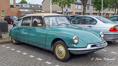 1960 Citroen ID 19P (Peter Beljaards) Tags: snoek citroën citroënid19p car auto oldtimer de6634 strijkijzer hydropneumatischevering
