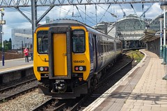 Northern 156420 (Mike McNiven) Tags: arriva railnorth northern supersprinter sprinter buxton manchester piccadilly dmu diesel multipleunit