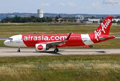 F-WWBZ Airbus A320 Neo Air Asia (@Eurospot) Tags: 9mrar fwwbz airbus a320 neo 9034 airasia lfbo toulouse blagnac