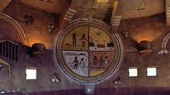 Interior of the Desert View Watchtower (Lone Rock) Tags: grandcanyon desertviewwatchtower arizona southwest