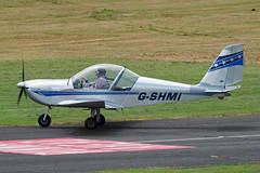 G-SHMI (hartlandmartin) Tags: gshmi glo gloucester staverton egbj evektor ev97 eurostar aircraft airline plane aeroplane aviation fujifilm xm1 xc50230ii