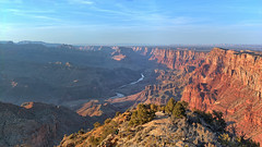 View from Destert View Watchtower at Sundown (Lone Rock) Tags: grandcanyonnationalpark arizona