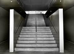 AZCA (a-r-g-u-s) Tags: azca madrid stairs escaleras escalones hormigon soledad