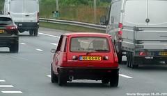 Renault 5 Alpine Turbo 1984 (XBXG) Tags: nk05kg renault 5 alpine turbo 1984 renault5 r5 recinq red rood rouge hot hatch hatchback a9 knooppunt holendrecht nederland holland netherlands paysbas youngtimer old classic french car auto automobile voiture ancienne française france frankrijk vehicle outdoor