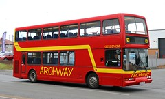 Archway Travel, Fleetwood ST52NTU working Wyre area schools services. (Gobbiner) Tags: b7tl archwaytravel eastlancs fleetwood st52ntu vyking volvo stagecoacheastscotland 16928 strathtay 708
