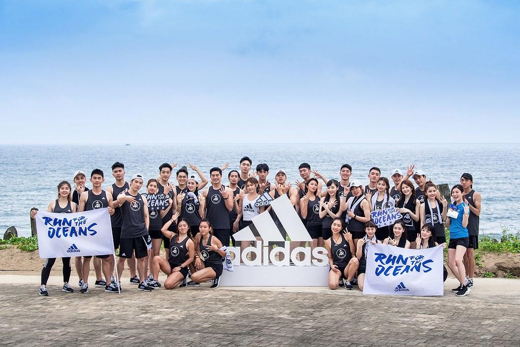 2. adidas號召跑者響應世界海洋日,跑1公里捐1美金救海洋