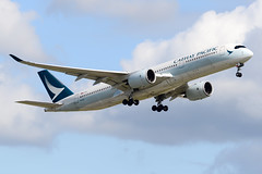 CYVR - Cathay Pacific A350-900 B-LRC (CKwok Photography) Tags: yvr cyvr cathaypacific a350 blrc