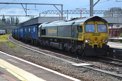 Freightliner Cllass 66/5 66550 - Stockport (dwb transport photos) Tags: freightliner locomotive 66550 stockport