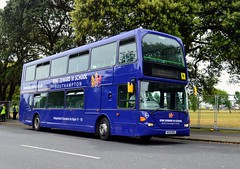 554 N321KES (PD3.) Tags: dday75 d day 75 portsmouth pompey hampshire hants england uk united kingdom president trump queen wwii ww ii southsea cosham park ride xelabus bus buses common world war 2 scania east lancs 554 n321kes n321 kes