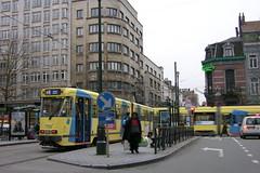 2007-12-04 Brussel Tramway Nr.7758 (beranekp) Tags: belgium brussel tramvaj tram tramway tranvia strassenbahn šalina elektrika električka 7758