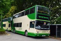 AV18 X18SEA (PD3.) Tags: dday75 d day 75 portsmouth pompey hampshire hants england uk united kingdom president trump queen wwii ww ii southsea cosham park ride xelabus bus buses common world war 2 seaford district alexander av18 av 18 x18sea x18 sea