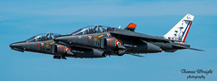 Armée de l'Air Alpha Jets (Thomas Wraight) Tags: raffairford riat royalinternationalairtattoo airtattoo airshow riat2017 thomaswraight thomaswraightphotography photography picture capture canon camera lens digital digitalphotography dslr 100400 canon70d frenchairforce arméedelair frenchmilitary aviationtagsaviation aircraft flight warbirds military militaryaircraft combataircraft combat jet fastjet fastjettraining jettrainer jettraining alphajet dassault dassaultaviation