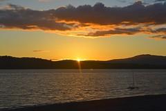 Ledaig Sunset, West Scotland (philept1) Tags: scotland sunset water ledaig caravan view argyll bute