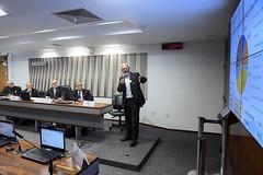 CI - Comissão de Serviços de Infraestrutura (Senado Federal) Tags: ci audiênciapúblicainterativa pls2612018 exploração transporteferroviário autorregulaçãoferroviária maurícioferreirawanderley luizantôniofayet senadorjeanpaulpratesptrn wagnerferreiracardoso bernardofigueiredo teladeprojeção brasília df brasil
