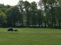 Tractor cutting the grass in the park (janettehall86) Tags: tractor grass green naturephotography nature beautiful beauty avenhampark millerpark prestonlancashire preston lancashire uk northwestengland england springmorning spring landscapephotography landscape landscapelovers photography photographylovers photosofpreston photo sun blueskies blue skies huaweip30pro huawei flickr flickrcentral greatbritain trees