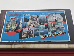 The Black Hills of South Dakota (Hazboy) Tags: 2019 drug wall april dakota south hazboy1 hazboy hills black postcard