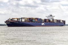 APL LeHavre (antowo1) Tags: lehavre apl apllehavre containerschiff containership fracht fright elbe fluss river hamburg deutschland germany