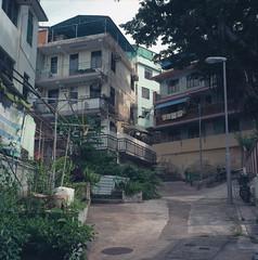 Cheung Chau (Vinzent M) Tags: hong kong 香港 zniv tlr rollei rolleiflex 35 zeiss planar kodak ektar 長洲 cheung chau
