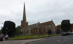 St.Mary's Church, Bridgwater (andreboeni) Tags: stmarys church bridgwater somerset spire architecture building stmary