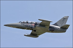 Aero L-39CM Albatros (Pavel Vanka) Tags: aero l39cm albatros slovakairforce slovakiaairforce lkcv caslav czech czechrepublic aircraft plane airplane spotter spotting fly flying airshow aviation canon jet trainer