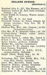 College Ave 1914 Seeds Street Directory Formby (Formby Civic Society) Tags: collegeave formby merseyside l37 daeth fredericgeorgedaeth