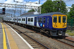 Northern Rail Class 319 319376 - Stockport (dwb transport photos) Tags: arriva northernrail emu 319376 stockport