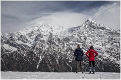 ANNAPURNA VIEW (P.N.F) Tags: annapurna nepal mountains trekkers