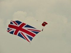 Big Flag. (aitch tee) Tags: 75thanniversary ddaylanding ddayanniversary unionflag normandy massparadrop bigflag
