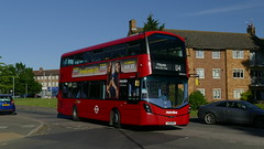 Hayes Hybrid (londonbusexplorer) Tags: metroline west volvo b5lh wrightbus gemini 3 vwh2176 lk16dfu u4 uxbridge hayes prologis park tfl london buses
