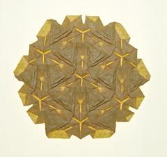 Pyrineen Summits (mganans) Tags: origami tessellation