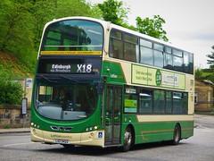 Lothian Country 1036 (LXZ5422) - 31-05-19 (peter_b2008) Tags: lothiancountry lothianbuses firstlondon metroline volvo b9tl wright eclipsegemini2 1036 lxz5422 bf60vjg vn37927 vw1879 edinburgh buses coaches transport buspictures