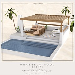 {YD} Arabello Pool ({Your Dreams}) Tags: theimaginariumevent sl summer pool secondlife decor decoration newdecoration new newssl newitem newrelease