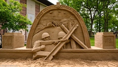 Memorial, Omaha Beach, D-Day, 75th Anniversary, First Division (Jim Frazier) Tags: worldwar2 worldwarii worldwar 1stdivision 1stinfantrydivision 2019 20190606cantignydday 2019cantigny 75thanniversary army art beautiful beauty bigredone botanic botanicgardens botanicalgardens cantigny cantignypark centered centralperspective dday designed dupage dupagecounty firstdivision firstdivisionmuseum firstinfantrydivision gardens headon horticulture il illinois jimfraziercom june linedup memorial military museums omahabeach parks patriotic patriotism people perpendicular pov preserves publicgardens q4 reenacting reenactment reenactments reenactors sand sculpture sel1 soldiers statuary statues summer symmetrical symmetry uniform unitedstatesarmy usarmy volunteer volunteering war warfare wheaton ww2 wwii instagram f10