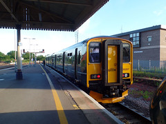 150207 Exeter St Davids (Marky7890) Tags: gwr 150207 class150 sprinter exmouth railway devon avocetline train