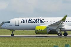 YL-AAQ   Air Baltic   Airbus A220-300   CN 55052   Built 2019   DUB/EIDW 10/05/2019 (Mick Planespotter) Tags: ylaaq air baltic airbus a220300 55052 2019 dub eidw 10052019 a220 dublinairport collinstown nik sharpenerpro3 cs300