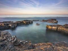Sunrise Kimmeridge Bay (trigger1976_33) Tags: lovedorset longexposure landscape seascape dramaticseascape dorset kimmeridgebay