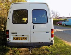 1990 FORD TRANSIT 190 2496cc H259GFH (Midlands Vehicle Photographer.) Tags: 1990 ford transit 190 2496cc h259gfh