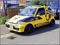 1996 Fiat  Cinquecento Sporting (Alan B Thompson) Tags: 2019 june transport lumix fz82 picassa